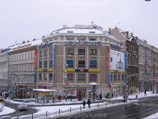 Bila Labut Department Store at Wenceslas Square