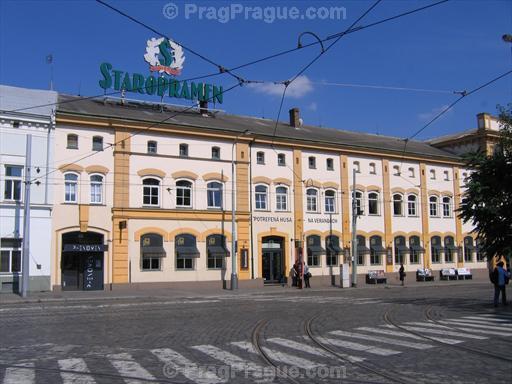Staropramen Brewery, Smichov, Prague